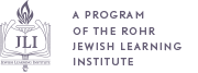A project of the Rohr Jewish learning Institute