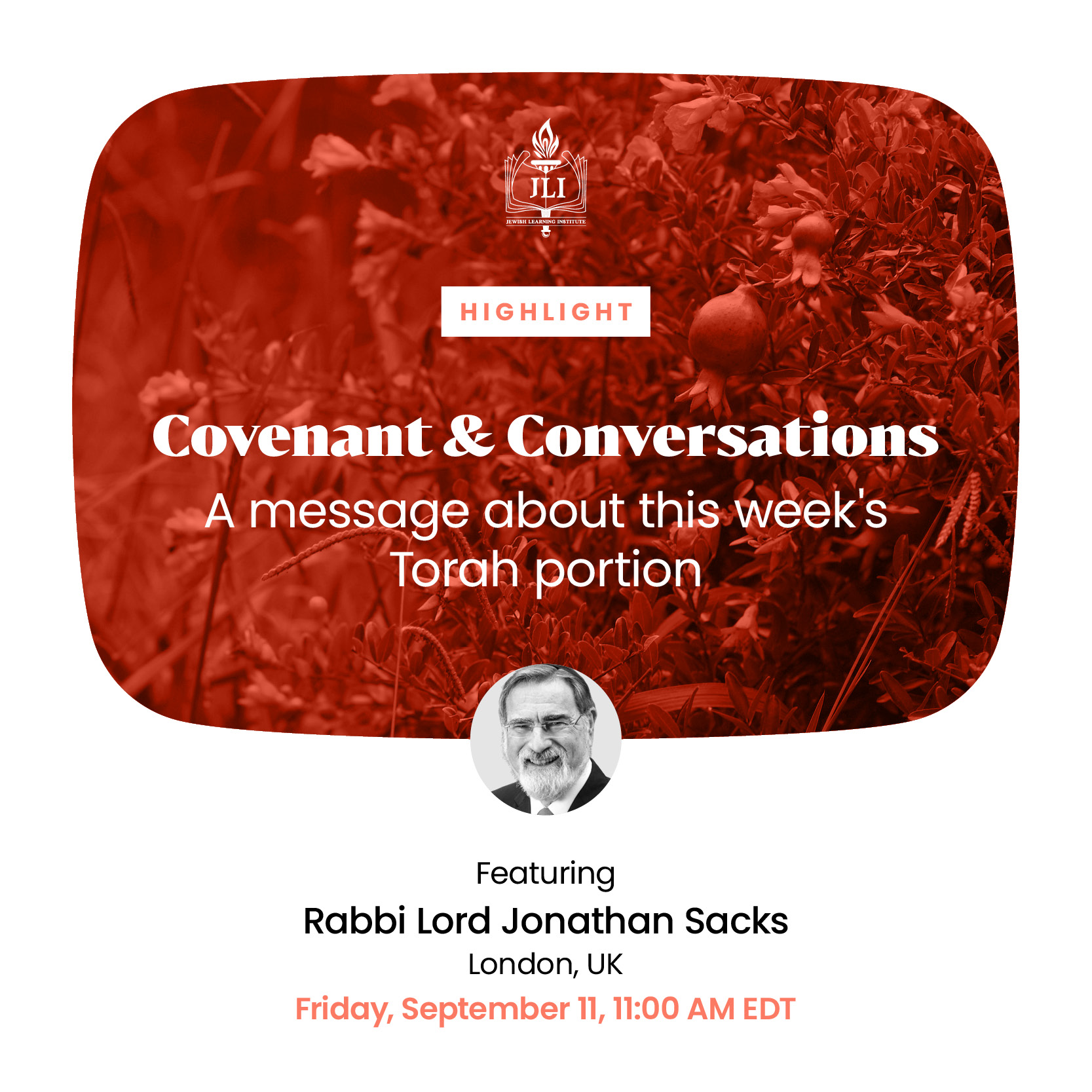 Covenant & Conversations